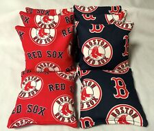 Boston Red Sox 8 Cornhole Bags Beantoss Bago 4 Of Each Print 2 Sides
