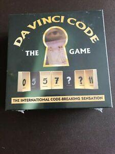 DA ViNCi CODE BOARD GAME-NEW-FACTORY SEALED