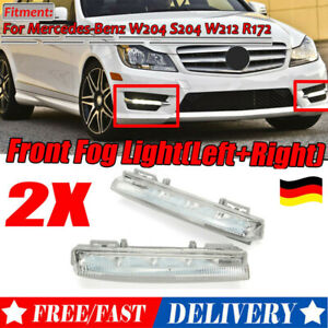 1 Paar Tagfahrlicht Blinkleuchte Für Mercedes-Benz W204 W212 C250 A2049068900 DE