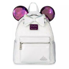 DISNEY Loungefly Mini Backpack - MINNIE MOUSE MAIN ATTRACTION SPACE MOUNTAIN