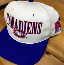 MONTREAL CANADIENS NIKE  NHL 2 TONE YOUTH  (Adjustable) HOCKEY CAP/HAT -No Tax