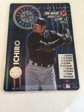 2001 MLB Showdown--Ichiro Suzuki--Foil--Pennant Run #169-- Seattle Mariners HOF
