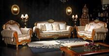 Klassische Sofagarnitur 3+2+1 Barock Rokoko Antik Stil Sofa Couch Couchen SB50