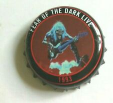 Beer bottle cap ROBINSONS - TROOPER ale top IRON MAIDEN - FEAR OF THE DARK LIVE