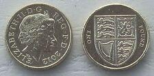 Großbritannien / Great Britain 1 Pound 2012 p1113 vzgl-unz.