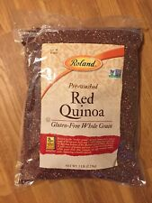 Roland Red Quinoa 5 pound Bag Peru