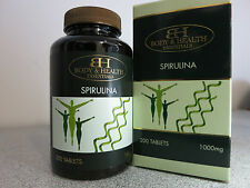 Body & Health Spirulina 1000mg 200 Tablets