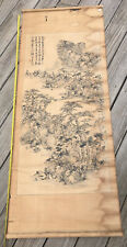 New ListingOriginal Antique Asian scroll Painting Chinese Or Japanese?
