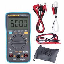 Auto Range Digital Multimeter 6000 Counts True RMS AC/DC Resistance Cap Tester