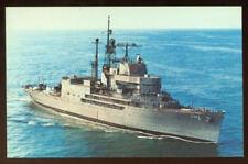 USS Norton Sound AV-11/AVM-1 postcard  US Navy Seaplane Tender/Missile Testing