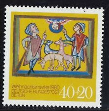 Postfrische Briefmarken aus Berlin (1980-1990) mit Feiertags- & Weihnachts-Motiv
