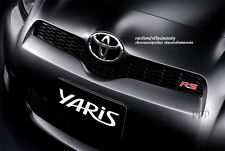 "Toyota Vitz Yaris Vios "" RS "" GRILL Emblem RADIATOR DECAL GENUINE LOGO BADGE 12"