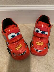 NEW < Lightning McQueen Kids, Red Shoes
