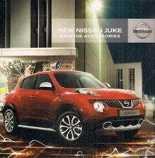 Nissan Juke Accessories 2010-11 UK Market Sales Brochure