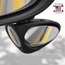360° Rotatable 2 Side Car Blind Spot Convex Rear View Parking Mirror Safety New