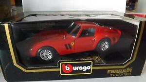 1:18 SCALE BBURAGO COD 3011 FERRARI 250 GTO (1962) MIB