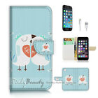 ( For iPhone 7 ) Wallet Case Cover P1999 Bird Lover