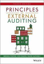 PRINCIPLES OF EXTERNAL AUDITING - NEW PAPERBACK BOOK