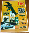 Heckler Koch HK MP5 MP5K SP89 HK91 Vintage Poster See DarnFineShot.com