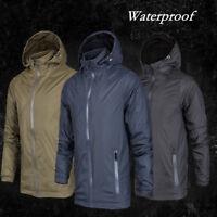 Men Stylish Waterproof Windproof Double Layer Jacket Outdoor Sports Outwear BJ