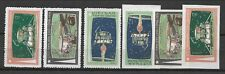 North Viet Nam Sc 641-43 NH PERF & IMPEERF issue of 1971 - SPACE