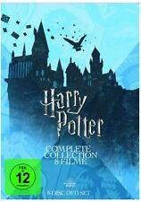 Harry Potter : Die Komplette Collection 8 Filme DVD Set Edition NEU&OVP
