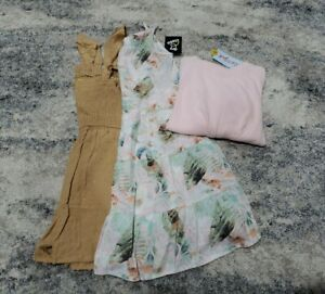 Art Class Girls Clothes Lot Size 7-8 Summer Dress Romper Shorts Kids Fashion NWT
