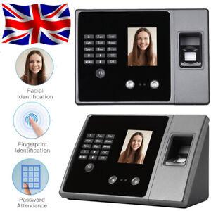 FairOnly Fingerprints Attendance Machine Colourful Employee Recognition Recording Device British regulatory