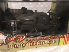 Xd Extreme Detailed 1:18 scale  UH-1 Huey Helicopters Vietnam Era New