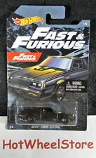 2019 Hot Wheels  Black  BUICK GRAND NATIONAL  FAST & FURIOUS Series  HW57-082219