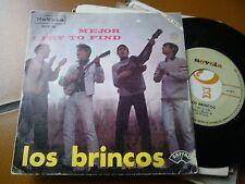 "7"" LOS BRINCOS MEJOR I TRY TO FIND SPAIN 1966 EX"