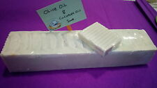 Greek Organic Soap Handmade Olive Oil & Coconut Oil Soap Bar Natural, Color Free