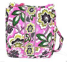 "Vera Bradley Mailbag Crossbody Bag ""Priscilla Pink"" Retired Patterns NWT!"