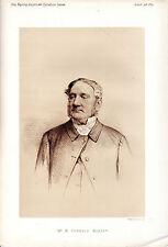 Mordaunt Fenwick Bassett-bagborough-Exmoor staghounds-Retrato Sepia (1879)