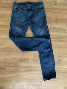 Nudie Jeans Thin Finn 32 X 32 Grey (Professionally Tapered)