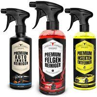 Auto Reiniger SPARSET | Felgen Reiniger + Insektenentferner + Innenraum Reiniger
