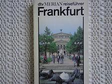 782 -  dtv-Merian-Reiseführer Frankfurt  - neuwertig -