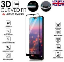 For Huawei P20 Pro Genuine Full 3D Tempered Glass 9H Screen Protector Cover