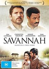 Savannah-DVD VERY GOOD CONDITION FREE POSTAGE AUSTRALIA WIDE REGION 4