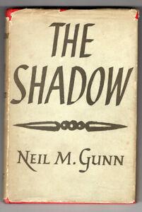 THE SHADOW Neil Gunn 1st ed d/wrapper 1948 Scotland WW2 Fiction
