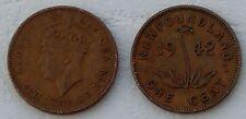 Neufundland / Newfoundland 1 Cent 1941-1943 p18 ss/vf