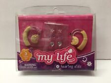 "Brand New My Life as Doll Hearing Aid Fits 18"" American Girl Nib Earrings"