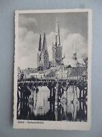 Ansichtskarte Lübeck Dankwartsbrücke 1939 (Nr.611)