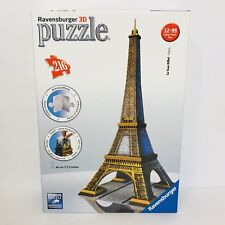 Ravensburger 3D Puzzle La Tour Eiffel Tower Paris 216 Piece Puzzle