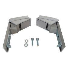 Pair of Hinges for Liebherr Fridge Freezer Door Handle Repair Kit Silver Grey
