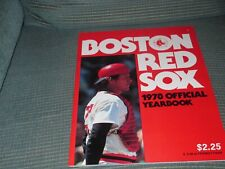 BOSTON REDSOX OFFICIAL 1978 YEARBOOK/FISK