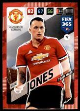 Panini 365 Adrenalyn XL 2018 - Phil Jones Manchester United FC No. 72