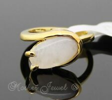Natural Yellow Gold Plated Fashion Rings