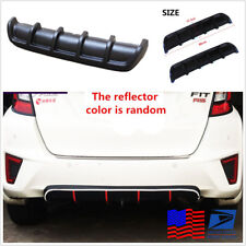25 InchesX5 Inches Rear Bumper Shark Lip Diffuser Protector Car Body From US