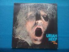 1 X VINYL ALBUM - URIAH HEEP - VERY 'EAVY,  (REISSUE) BRONZE ILPS-9142 - 1971
